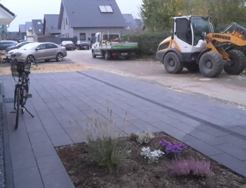 Pflasterarbeiten und Zaunbau